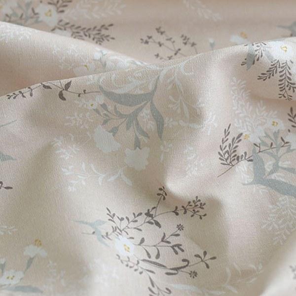 """Linen Cotton-Cotton blossom Soft Beige(54"""")"""