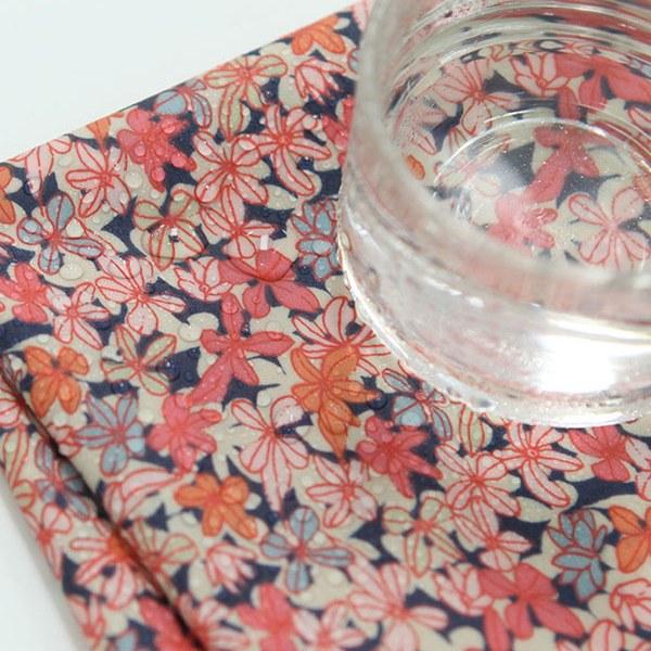 "Laminated Cotton, RevLawn-Campanulla Dewberry Pink(54"")"