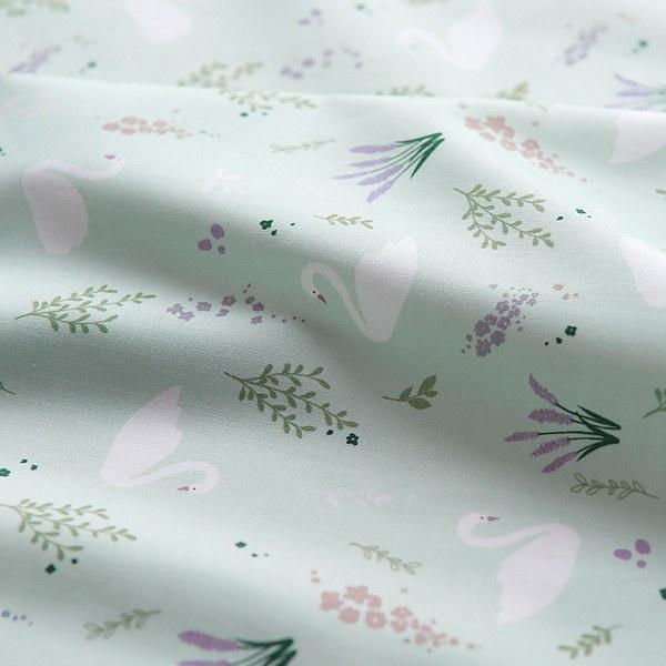 """Cotton sheeting -Swan Lake Sage(44"""")"""