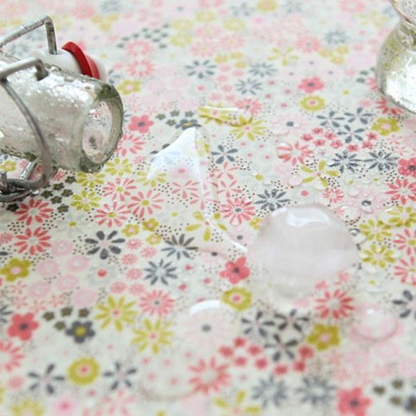 """Laminated Cotton, RevLawn-Spring Ade Pink(54"""")"""