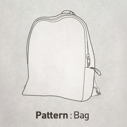 Backpack Pattern CTV-098