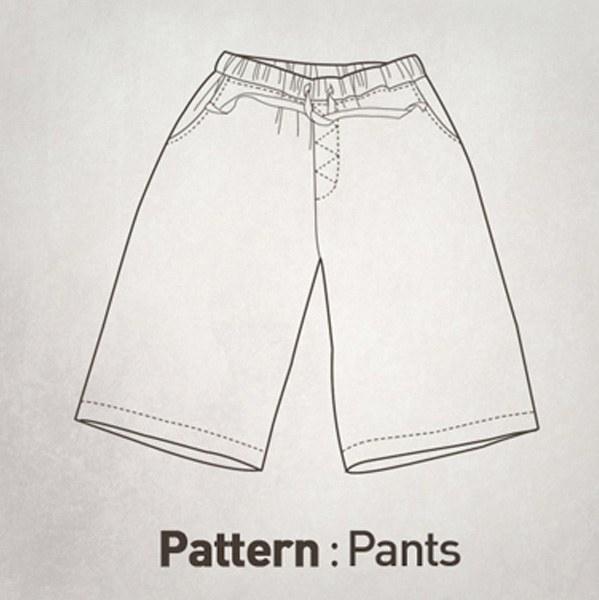 Pants Pattern CTV-039(Adult)