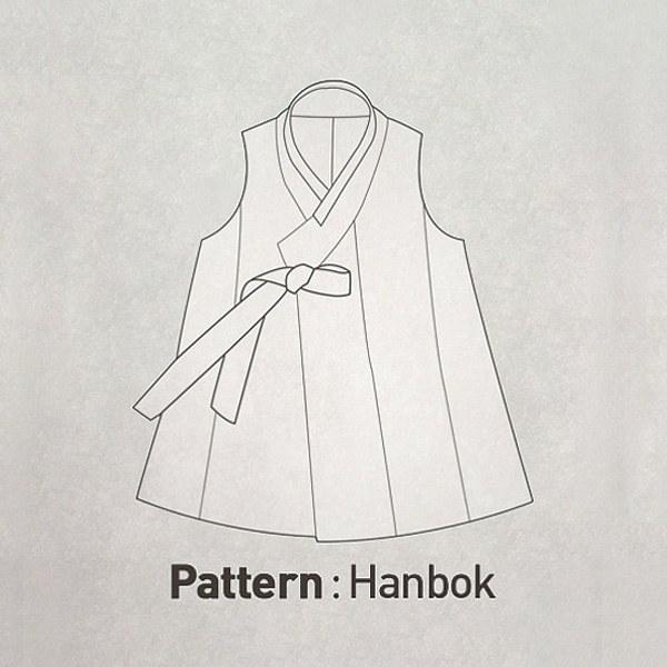 Korean Hanbok Pattern CTV-022(Child)