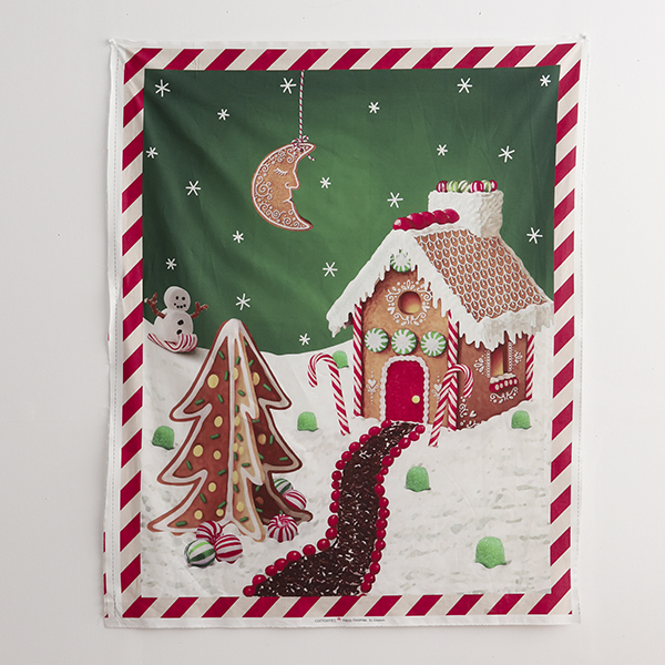 """Cotton sheeting-Emanon Happy House Forest Sweets House(44"""")"""