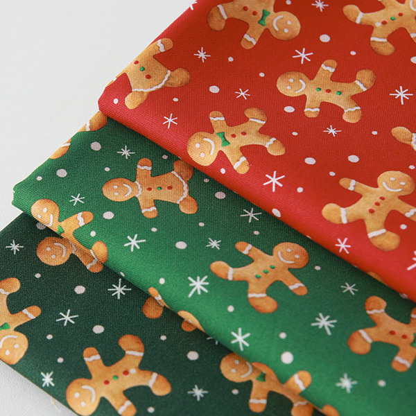 """Cotton sheeting-Emanon Happy House Ginger Man, 3colors(44"""")"""