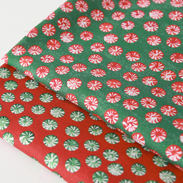 """Cotton sheeting-Emanon Happy House Peppermint Candy, 2colors(44"""")"""