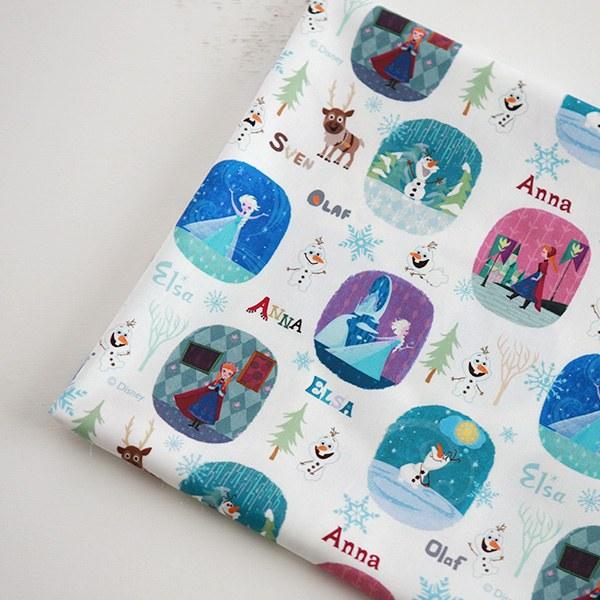 "Cotton sheeting-Disney-Frozen Märchen(44"")"