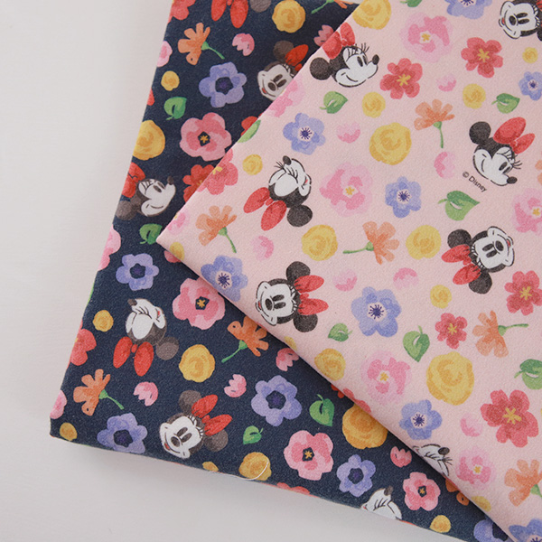 "Brushed Cotton-Disney-Romantic Minnie, 2colors(42"")"