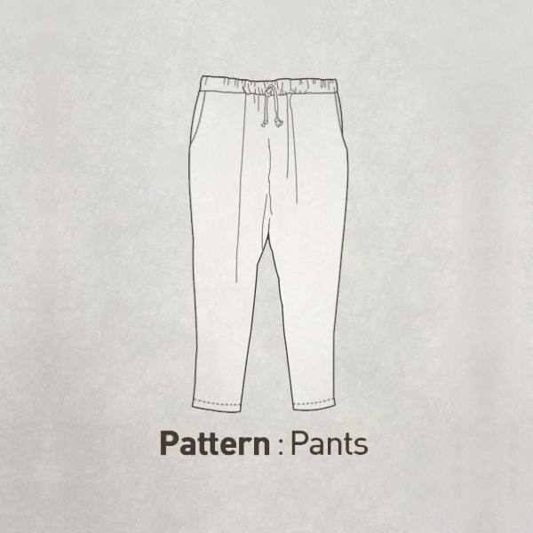 Pants Pattern CTV-093(Adult)