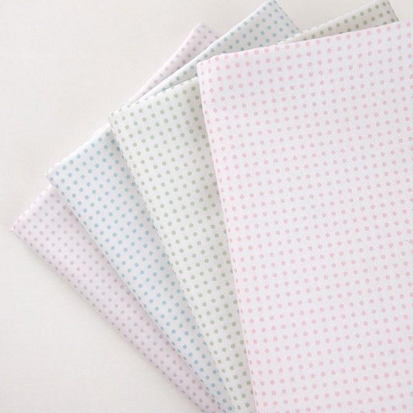 "Cotton sheeting-Mammel Dot, 4colors(44"")"