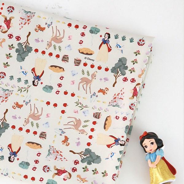"Cotton sheeting-Disney-Snow White Storyboard(44"")"
