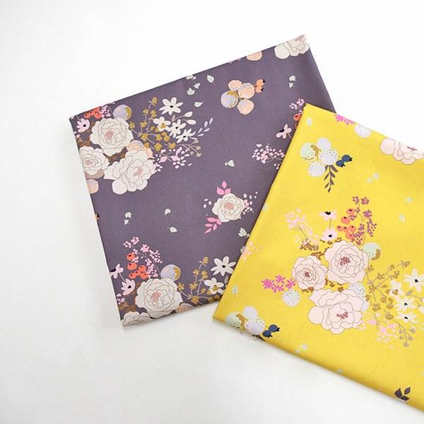 "Cotton sheeting-Peony Garden, 2colors(44"")"