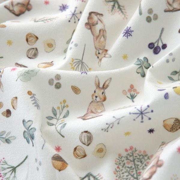 "Brushed Cotton-Milky Rabbit(42"")"