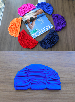 [YY-SW142] Pleated Swimming Hat
