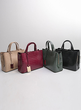 [YY-BA007] Modern Gold Crochet Tote Bag
