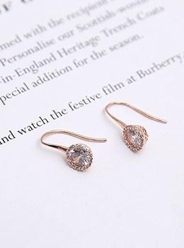 [YY-AC080] Twinkle Rose Gold Earrings