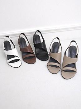 [YY-SH181] Summer Deli Heel Sandals