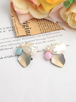 [YY-BR040] Pearl butterfly small brooch