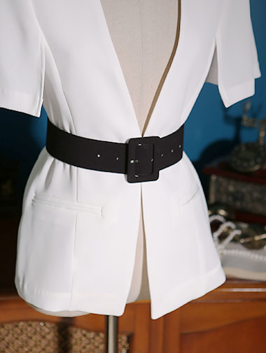 AT-209 Cont Square Line Simple Belt (3rd REORDER)