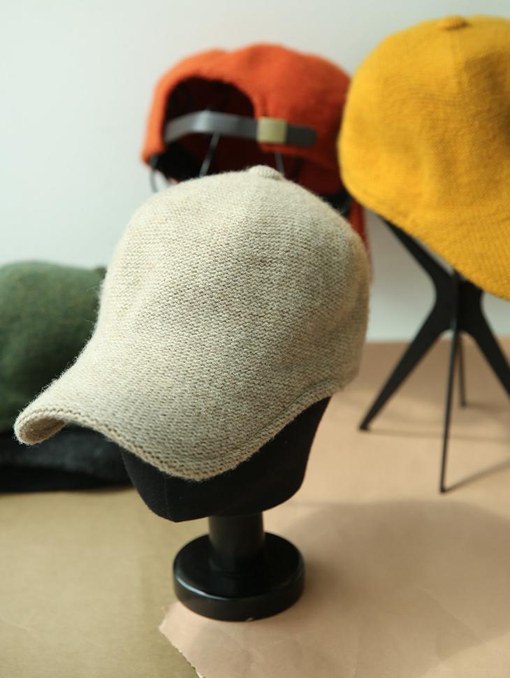 AC-483 soft wool ball cap(186th REORDER)