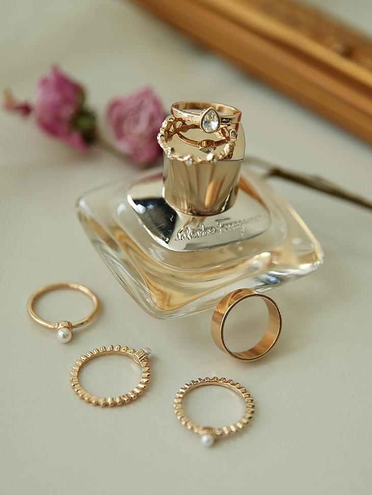 AJ-3902 ring (5 Pieceset)