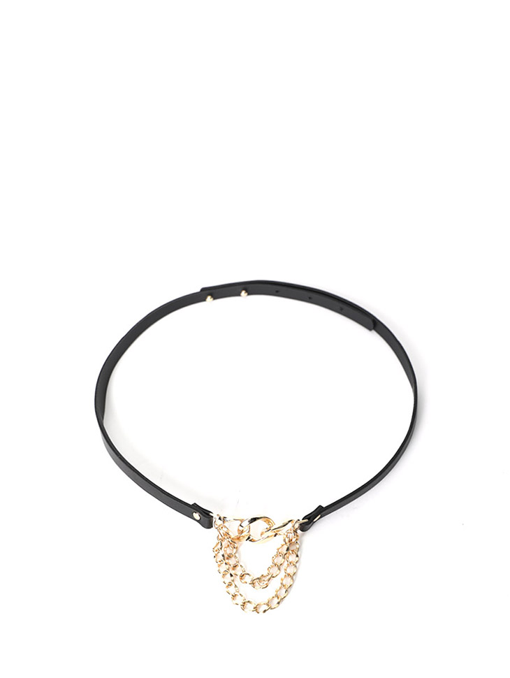 AT-336 Gold Chain Point Belt