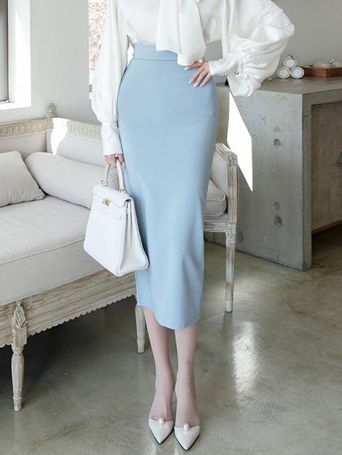 SK2043 리니안 High silket skirt(34th REORDER)