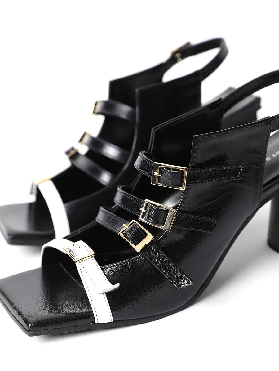 HAR-654 조아나 Strap High heels sandals*HAND MADE*