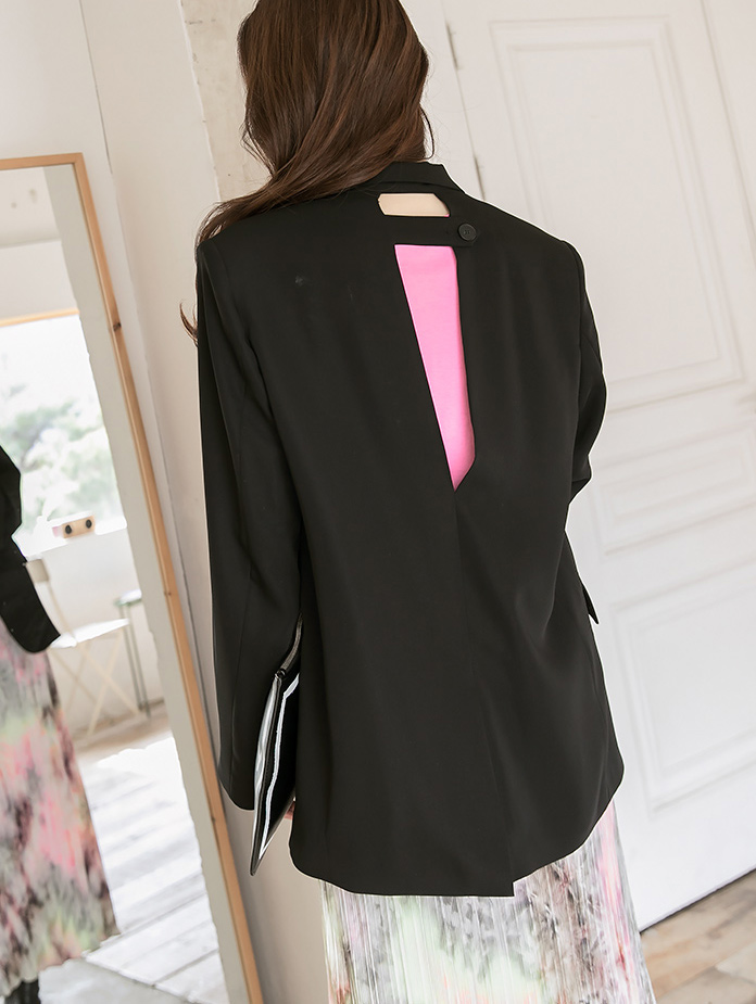 J967 Back Point over fit single Jacket(6th REORDER)