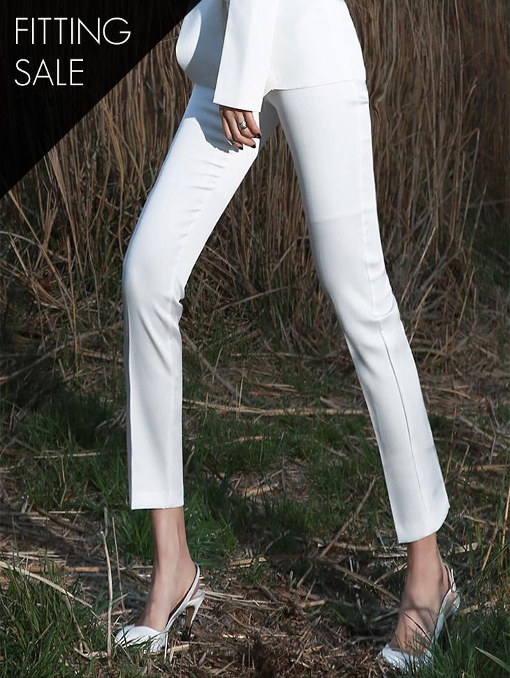 PS1816 사이드버튼 Slim pants*Fitting sale*