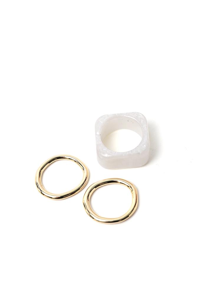 AJ-4696 ring(3PieceSET)