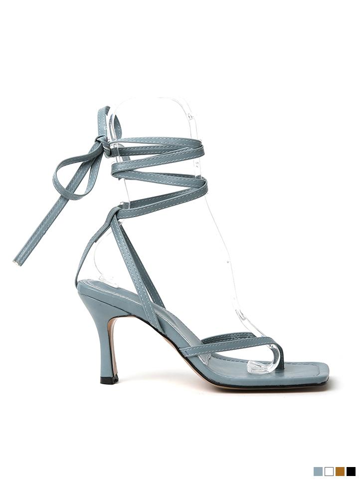 AR-2509 stitch flip flop High heels sandals(Strap SET)(3rd REORDER)