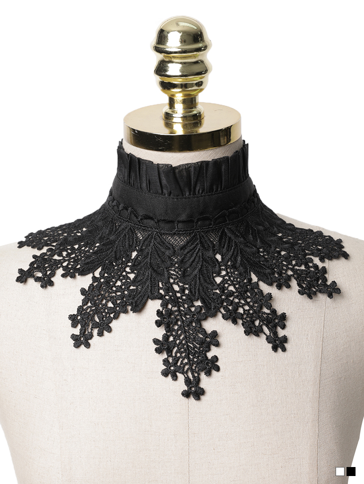 EC-168  Frill See-through Neck Cover(39th REORDER)