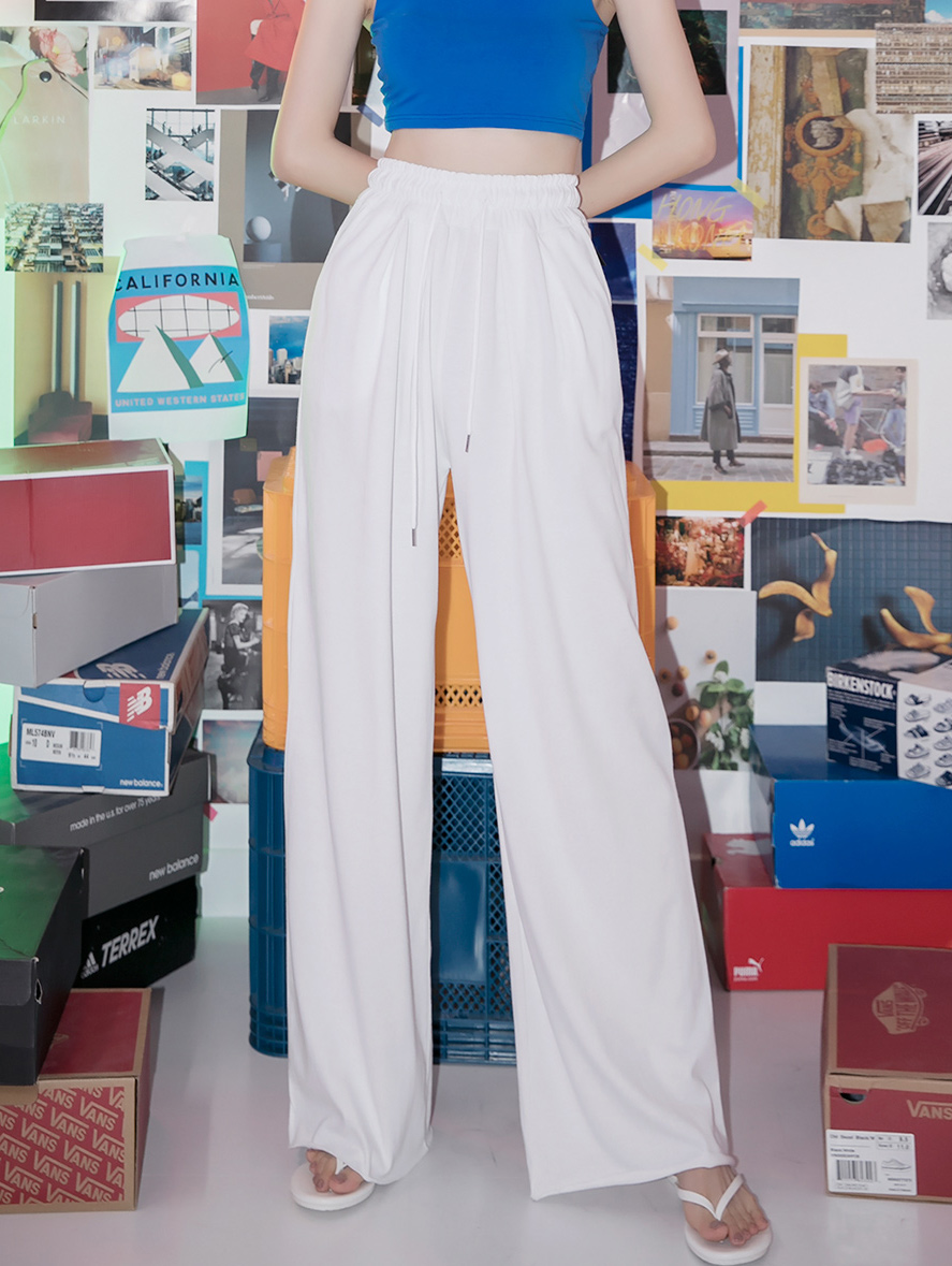 P2260 끄레송 wide banding pants(72nd REORDER)