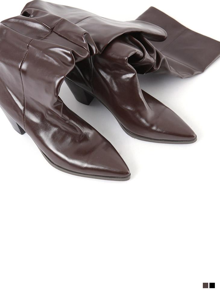 AR-2404 Genoa Edge Long Boots Heel