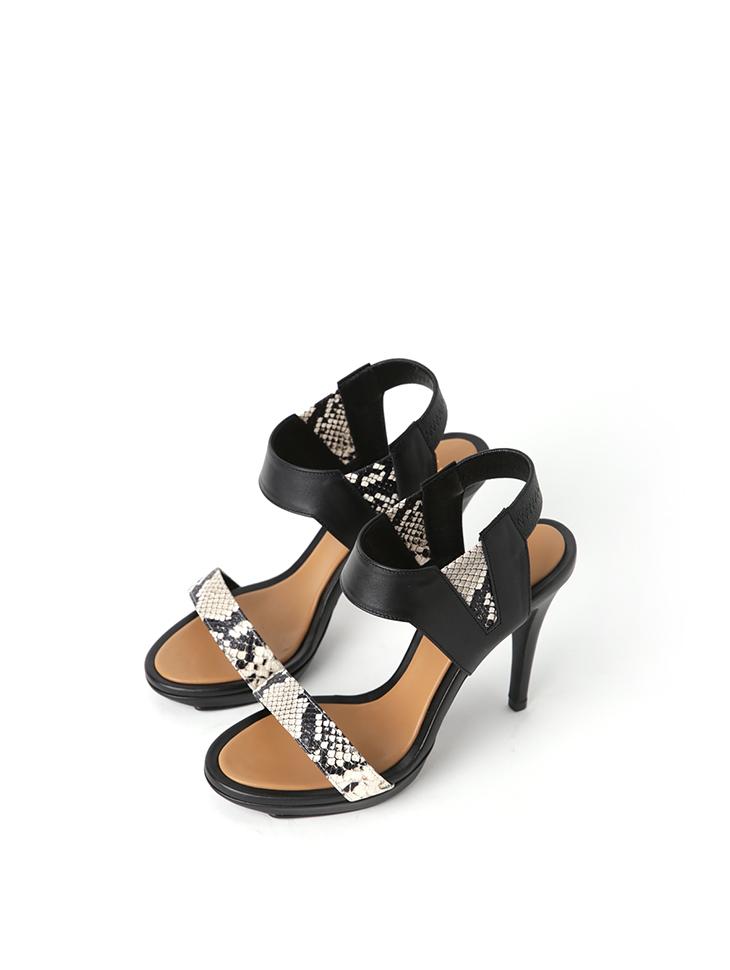 HAR-666 제라 Phyton High heels sandals*HAND MADE*