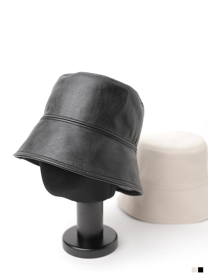 AC-618 Leather bucket hat