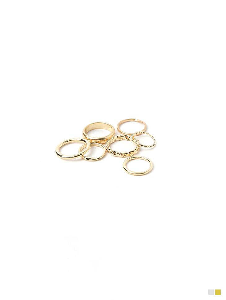 AJ-4856 ring(7PieceSET)