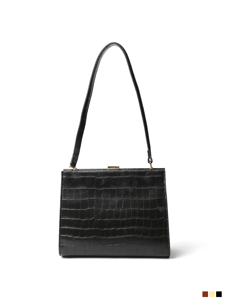 A-1193 Leather square Bag