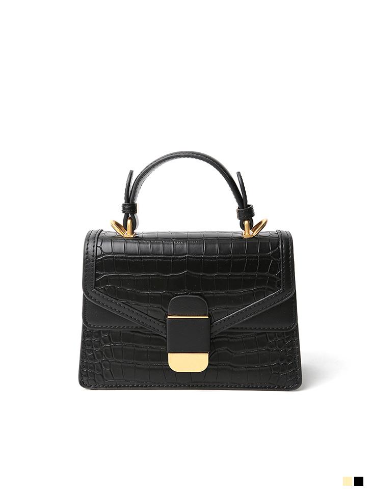 A-1210 Gold square Bag