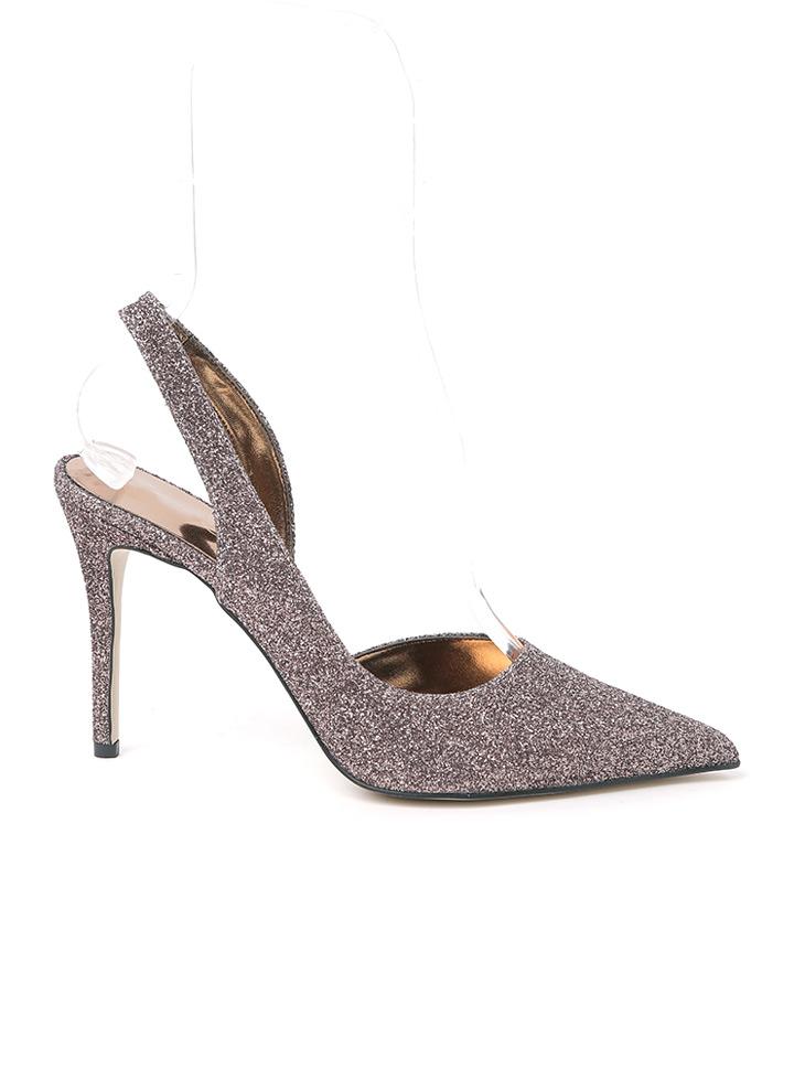 HAR-668 린 Glitter Slingback High heels Pumps*HAND MADE*