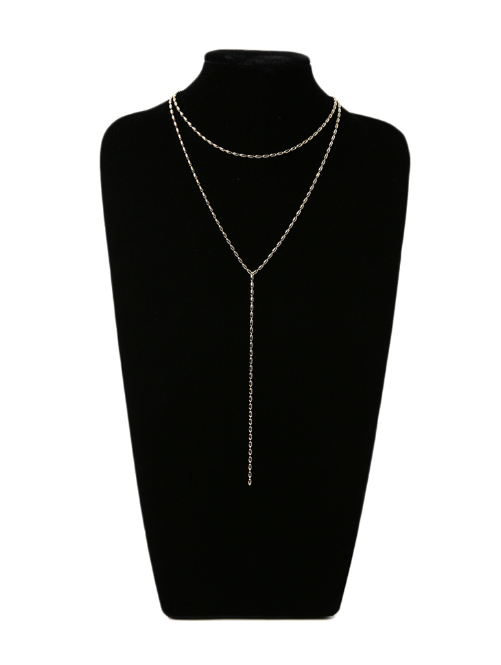 AJ-4854 Necklace(2PieceSET)