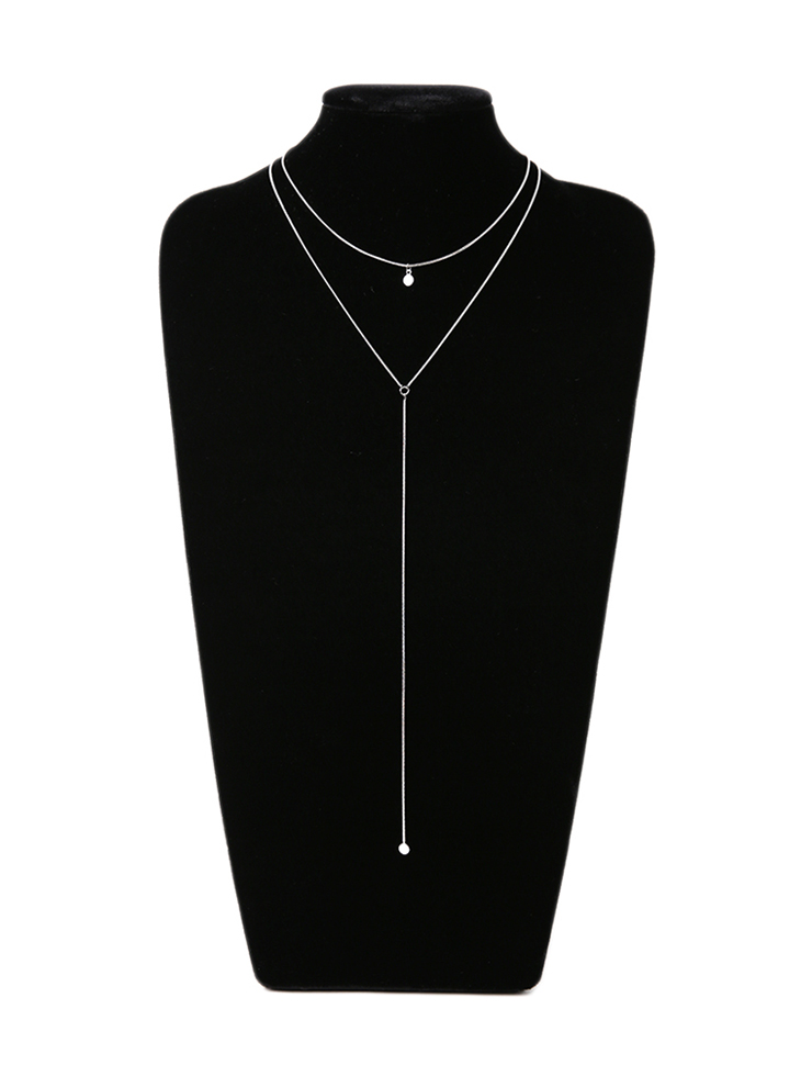 AJ-4857 Necklace(2PieceSET)