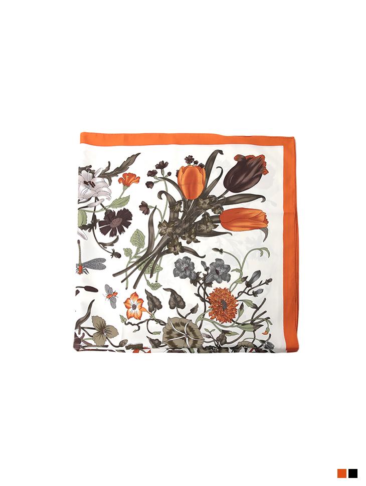 AS-1484 Flower Pattern Scarf
