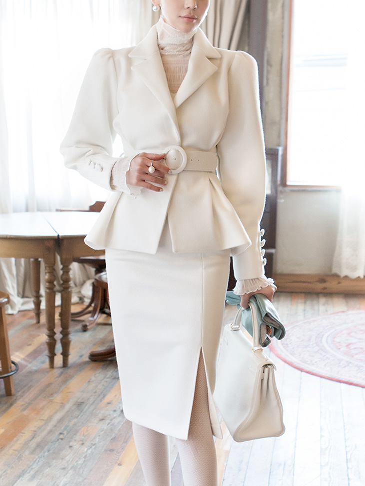 TP1020 classic wool two-piece(JACKET Belt set)(9th REORDER)