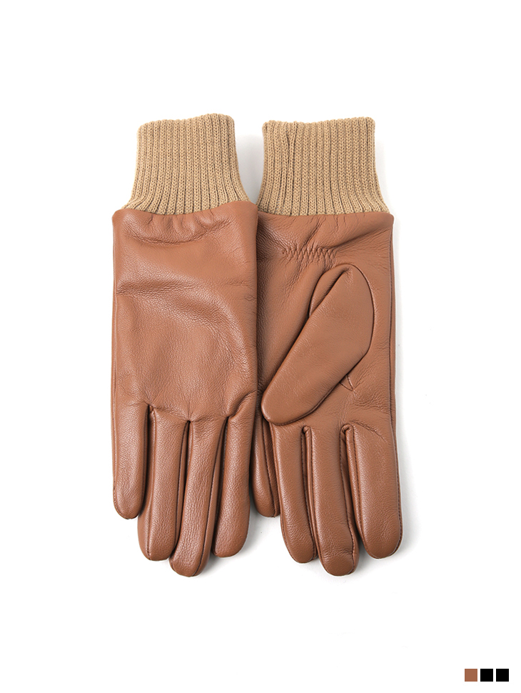 AH-152 real leather corduroy gloves