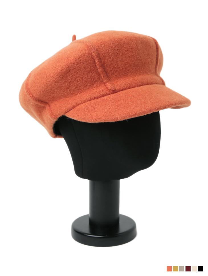AC-640 wool Color newsboy Cap