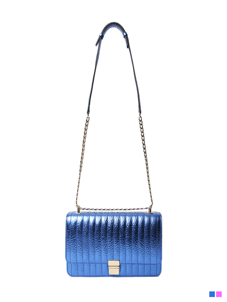 A-1242 Colorful real leather Bag