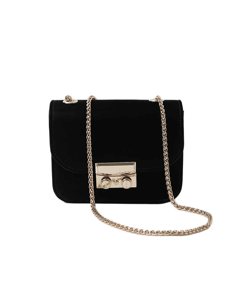 A-1251 simple square Mini Bag