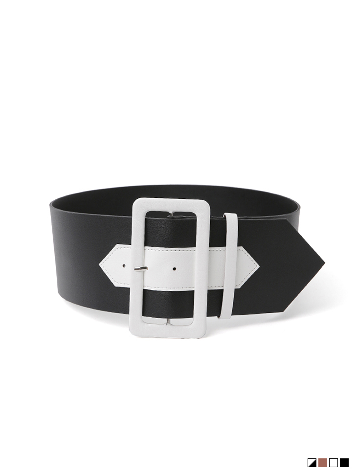 AT-363 지안 square Color scheme Belt(47th REORDER)